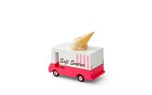 Load image into Gallery viewer, *PREORDER* Candylab Wooden Ice Cream Van - Isaac's Treasures
