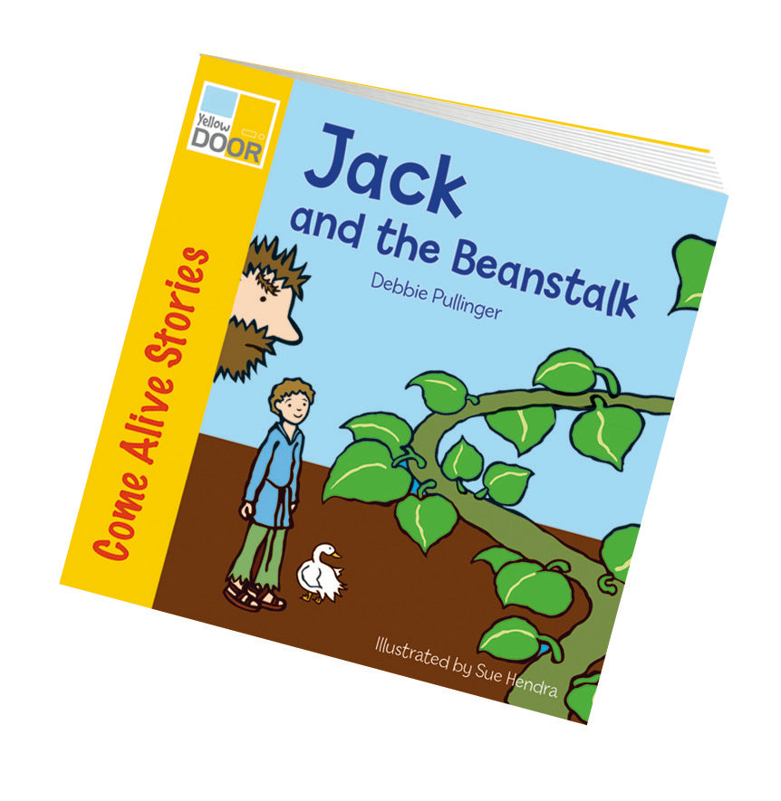 Yellow Door Jack & the Beanstalk Story Book