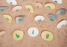 Load image into Gallery viewer, Yellow Door Alphabet Pebbles - Word Building Set