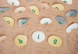 Yellow Door Alphabet Pebbles - Word Building Set