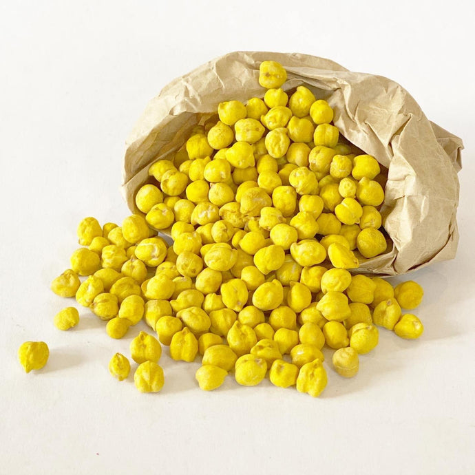 Sensory Scented Beans 175g- Yellow - Isaac's Treasures