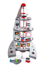 Load image into Gallery viewer, Hape Four Stage Rocket Ship