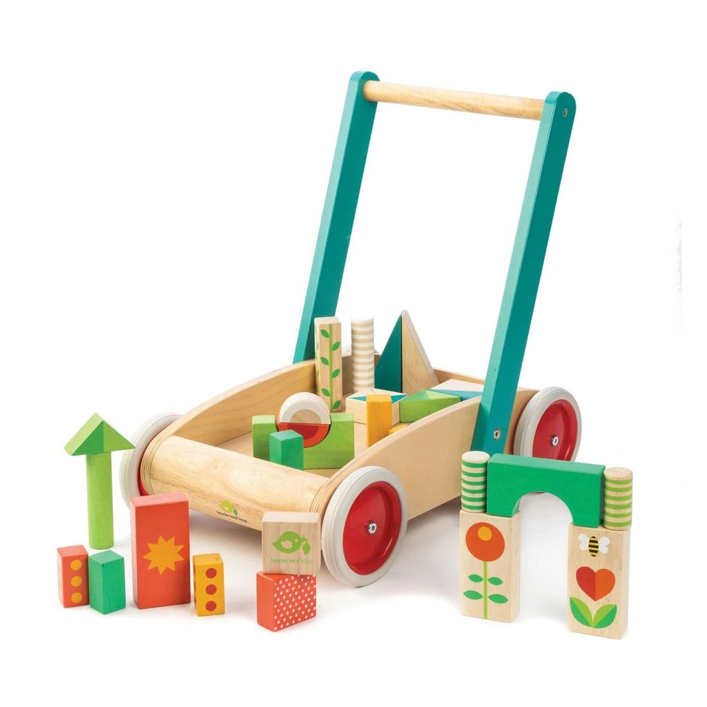 Tenderleaf Baby Block Walker