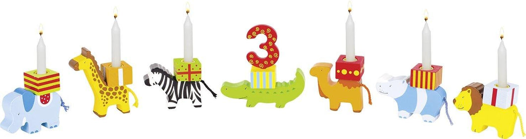 Goki Birthday Train Animal Parade Basic