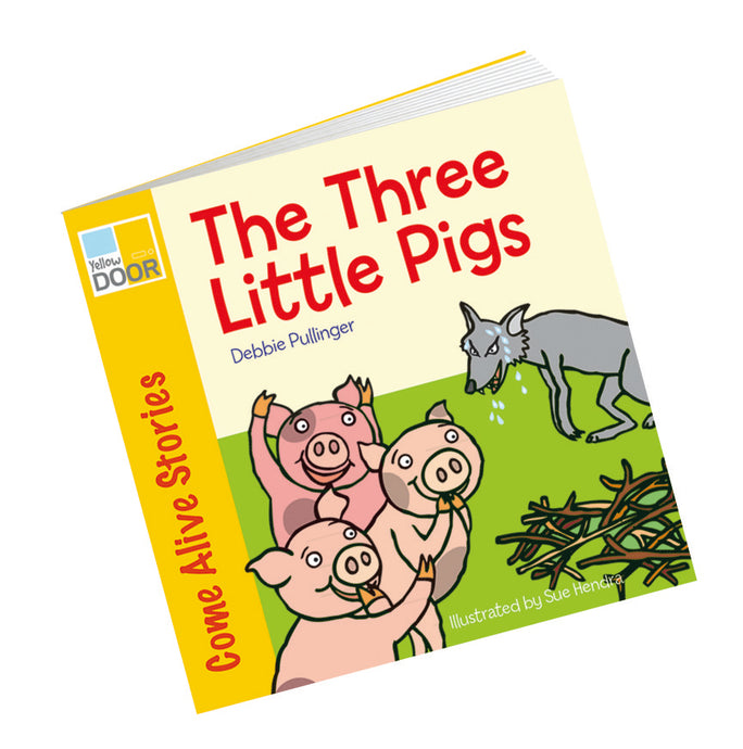 Yellow Door Three Little Pigs Story Book