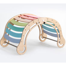 Load image into Gallery viewer, KateHaa Waldorf Inspired FOLDABLE XXL Pastel Rocker Age 0-12