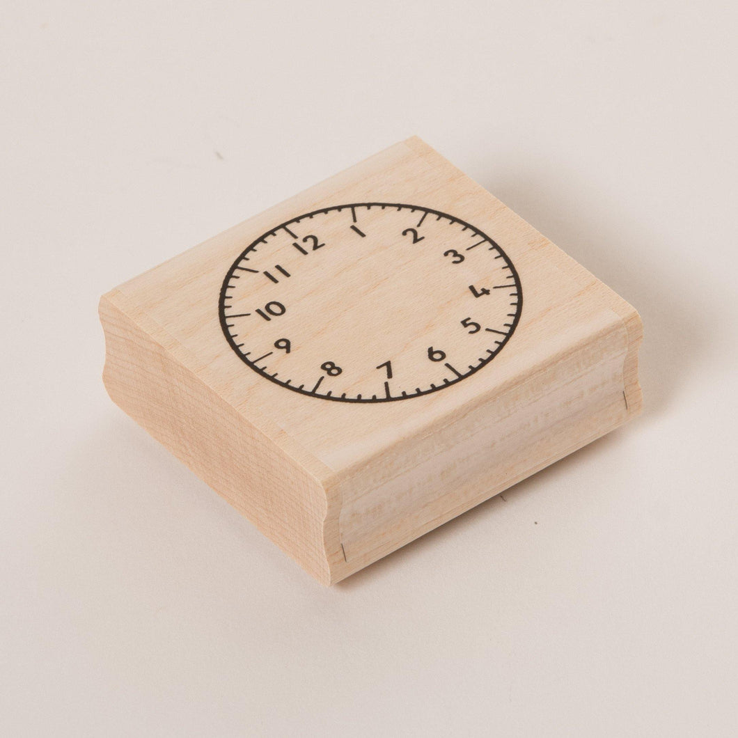 Learnwell Clock Face Stamp (Numerals) 40mm Diameter