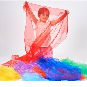 Tickit Rainbow Organza Fabric - 7 Colour Options