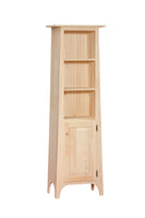 1 Door Slant Bookcase