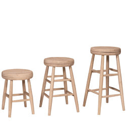 Backless Swivel Stools
