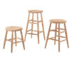 Scoop Seat Stools