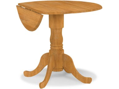 "42"" Drop Leaf Pedistal Table"