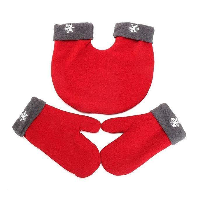 3Pcs Romantic Winter Warm Lovers Gloves