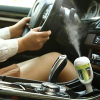 Mini Aromatherapy Car Ultrasonic Humidifier