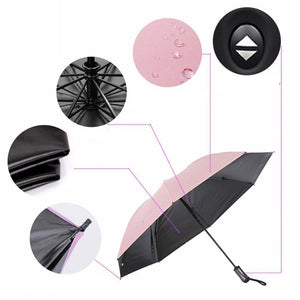 Windproof UV Protection Inverted Umbrella
