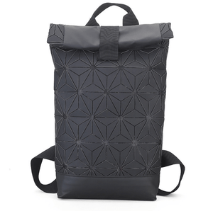 Adidas Inspired 3D Mesh Roll Up Backpack