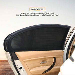 Car Window Sunshade Curtain With UV Protection(2 Pcs)