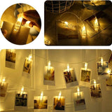 Fairy LED Light With Photo Clip Holder