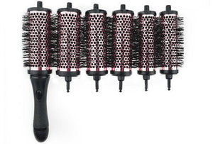 Round Styling Brush Tool Set (6 Rollers/Set)