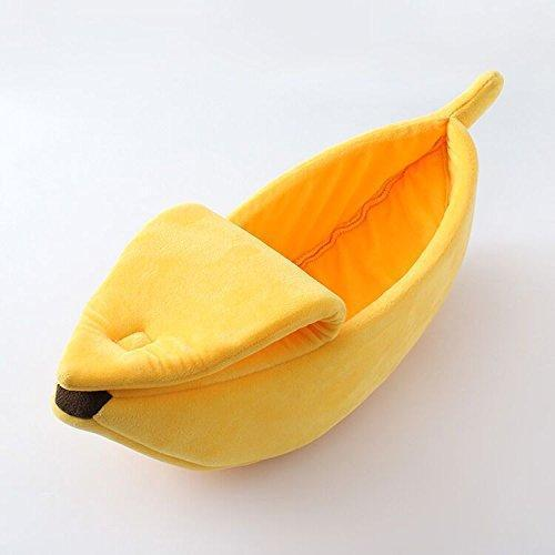 Super Cute Banana Shape Pet Bed