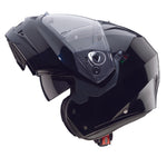 CABERG DUKE II - SMART BLACK - Modular Motorcycle Helmet
