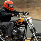 BILTWELL LANE SPLITTER HELMET - GLOSS HAZARD ORANGE