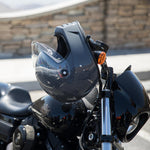 BILTWELL LANE SPLITTER HELMET - GLOSS STORM GREY