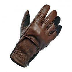 BILTWELL BELDEN GLOVES CHOCOLATE/BLACK CE APPR. - Biltwell