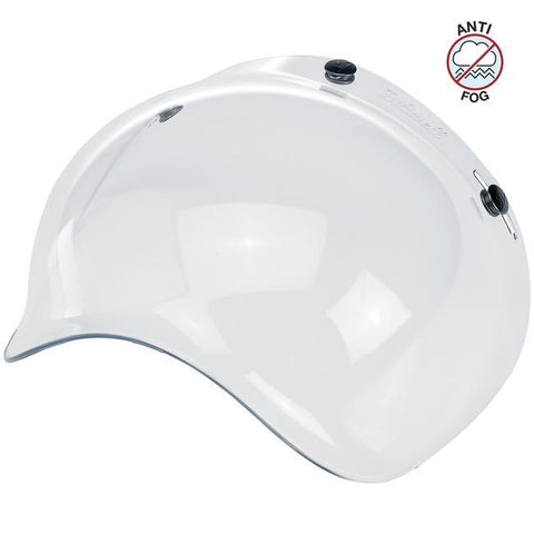 BILTWELL BUBBLE SHIELD ANTI-FOG - CLEAR - Biltwell