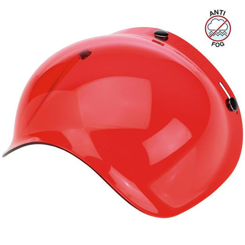 BILTWELL BUBBLE SHIELD ANTI-FOG - ROSE - Biltwell