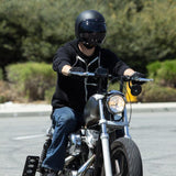 BILTWELL BUBBLE SHIELD ANTI-FOG - SMOKE - Biltwell