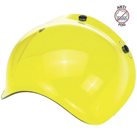 BILTWELL BUBBLE SHIELD ANTI-FOG - YELLOW - Biltwell