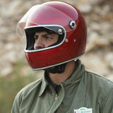 BILTWELL GRINGO S - METALLIC CANDY RED - Biltwell