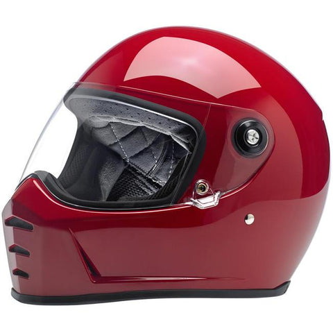 BILTWELL LANE SPLITTER HELMET - BLOOD RED - Biltwell