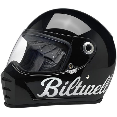 BILTWELL LANE SPLITTER HELMET - GLOSS BLACK FACTORY - Biltwell