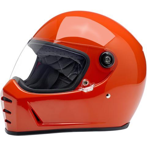 BILTWELL LANE SPLITTER HELMET - GLOSS HAZARD ORANGE - Biltwell