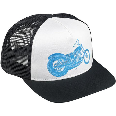 Biltwell Swingarm Trucker Hat Black/White - Biltwell