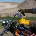 BILTWELL Work Gloves - GOLD - Biltwell