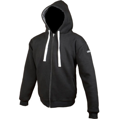 Booster Core Motorcycle Hoodie - Black - Booster
