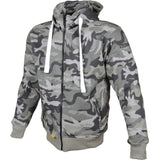 Booster Core Motorcycle Hoodie - Camo Green - Booster