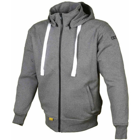 Booster Core Women´s Hoody Ladies Motorcycle Zip Hoodie - Grey - Booster