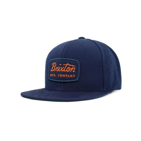 Brixton Jolt Snap Back Cap Light Navy - Brixton