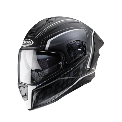 CABERG DRIFT EVO INTEGRA - MATT BLACK/ANTHRACITE/WHITE - Caberg