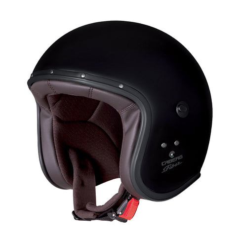 CABERG FREERIDE - MATT BLACK - Open Face Helmet