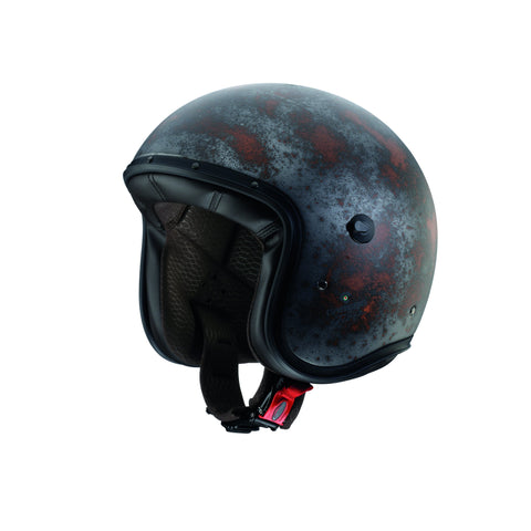CABERG FREERIDE - RUSTY - Open Face Helmet