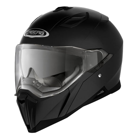 CABERG JACKAL - MATT BLACK - Motorcycle Full Face Helmet