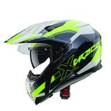 CABERG XTRACE SPARK G7 - WHITE/ANTHRACITE/YELLOW FLUO - Caberg