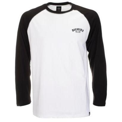 DICKIES BASEBALL LONG SLEEVE T-SHIRT - BLACK - Dickies