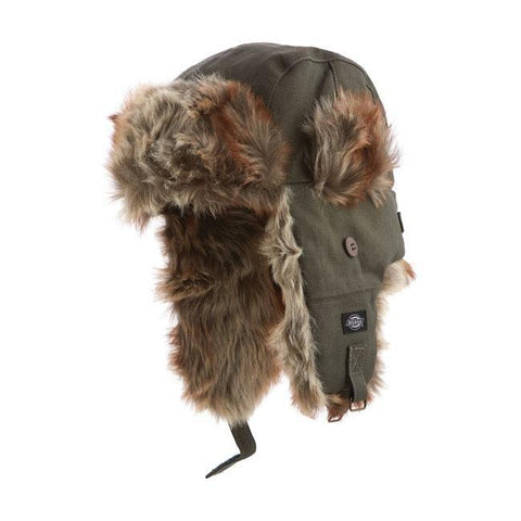 DICKIES Trout Creek Trapper Hat - Olive - Dickies