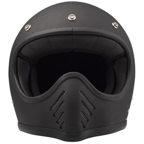 DMD SEVENTYFIVE FULL FACE HELMET - MATTE BLACK - DMD